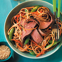 Grilled Steak and Asian Noodle Salad
